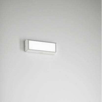Picture of Lampada Da Parete In Allumino Di Colore Antracite Sabbiato -554-