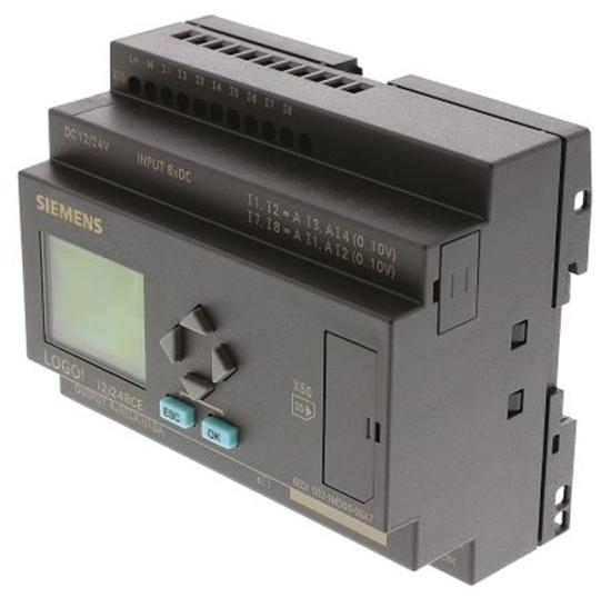 Picture of Modulo Logico Siemens 6ed1052-1md00-0ba7, 8 Ingressi Analogici/digitali, 4 Uscite Digitali/relè, 12 ? 24 V C.c.