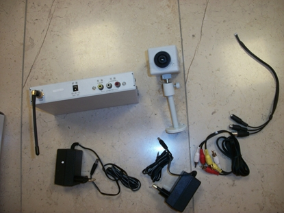 Picture of Kit Telecomando Piu'  Ricevitore Radio Per 8 Telecamere. -avc100-