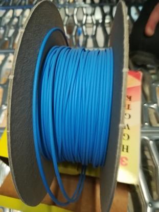 Immagine di Guaina Termorestringente Diametro 1.2 Blu Confezione 12 Metri -hsr12 Blu-