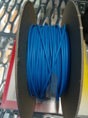 Immagine di Guaina Termorestringente  Diametro 1,6 Blu Confezione 12 Metri. -hsr16 Blu-