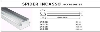 Immagine di Cassaforma Per Incasso Per Serie Spider -jad.c35-