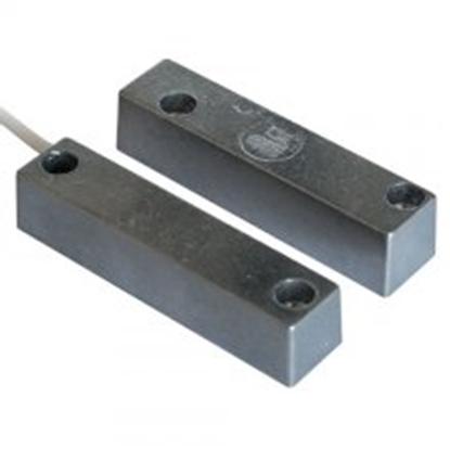 Immagine di C.s.a Contatto Magnetico Grande In Alluminio 5 Fili Normalmente Aperto + Normalmente Chiuso -460s-