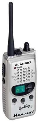 Immagine di Radio Trasmittente A 69 Canali Silver  -alan507 Silver-