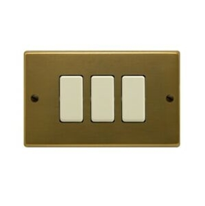 Picture of Placca In Bronzo 3 Posti -2513-