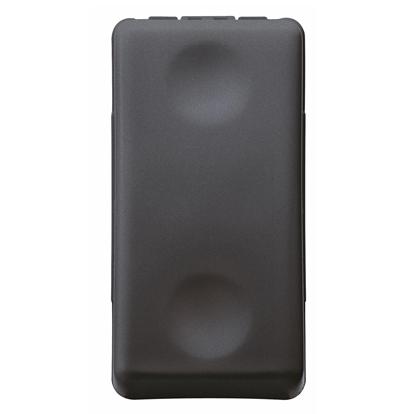 Picture of Invertitore Unipolare 250vac 16ax Nero System Black  -21579-