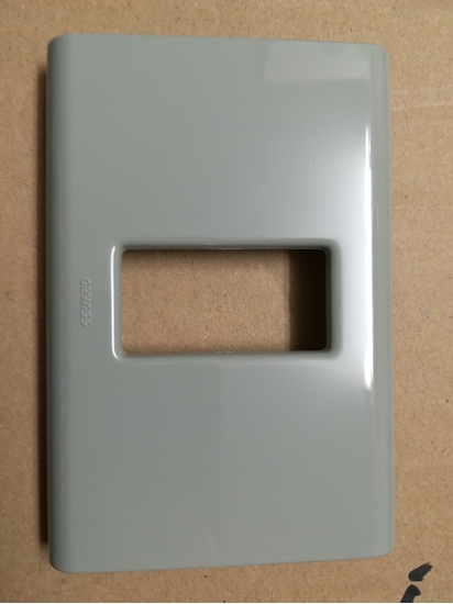 Picture of Placca 1 Posto Azzurrite Basic -22051-