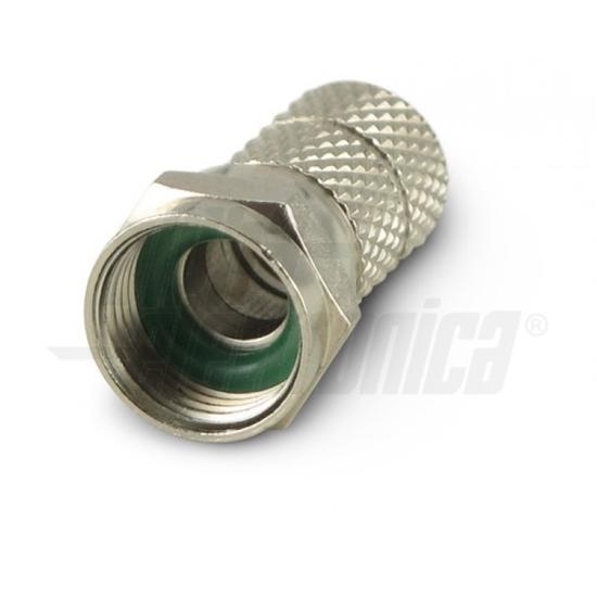 Immagine di Spina F Ad Avitare Per Cavo 6,8 Mm 1 O-ring   -86-014s-