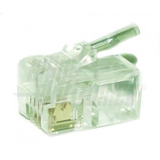 Picture of Spina Modulare 6p4c Per Cavo Flessibile -94312-