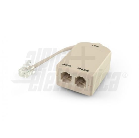 Picture of Filtro Adsl Sdoppiatore 6p4c Con Cavetto -94973/1-