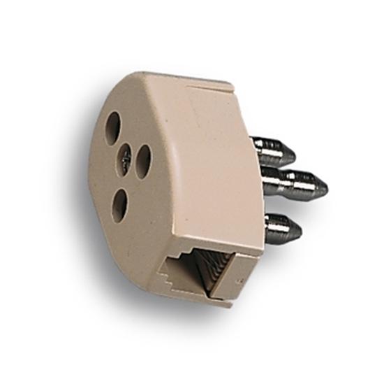 Picture of Spina Tripolare + Presa Tripolare + Presa Per Connessione Plug 6/2 C -22180-