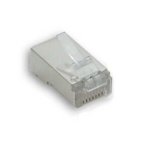Picture of Plug Cat6 Utp 8/8 + Inserto Guida Cavo -23728-