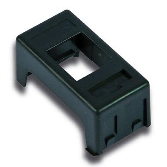 Picture of Adattatore Gewiss System Nero Keyston -23938-