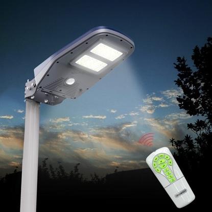 Immagine di Lampione Solare Per Esterno Con Pannello Solare -ecoscl01r-