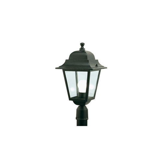 Immagine di Lanterna A Testapalo Nero -40106-