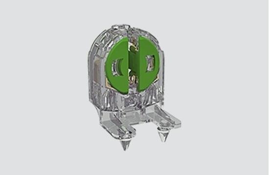 Picture of Portalampada Trasparente Per Neon T5 -283tr-