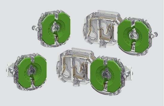 Immagine di Portalampade A Pastiglia Per Lampade Fluorescenti Lineari -3345cmau13tr-