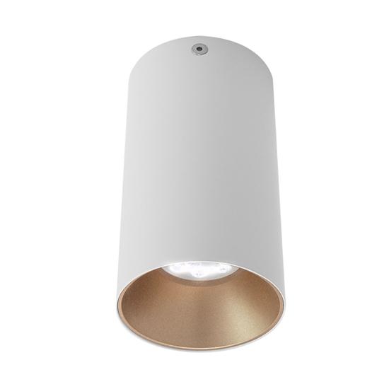 Immagine di Clindro A Plafone Per Interni In Alluminio Verniciato A Polveri - Nr01mwh/sgd -