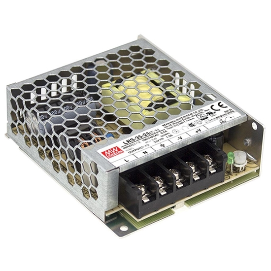 Picture of Alimentatore 24v Dc 1,5a 35w -lrs-35-24-