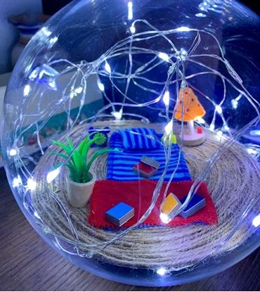Immagine di Sfera Luminosa Completa Di Led -bubblelamp-