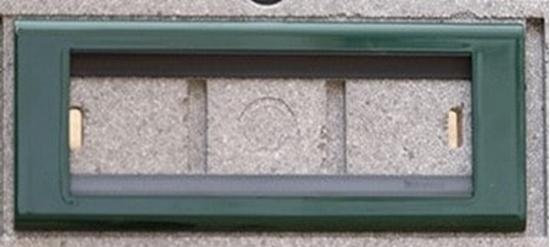 Immagine di Placca Living Classic Metallo 6 Moduli Verde Bosco -4716vb-