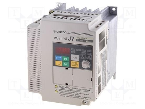 Picture of Inverter 380v 1.10kw 3.4a -cimrj7az40p70-