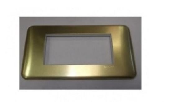 Picture of Placca Cross Oro 2 Moduli  -680535-