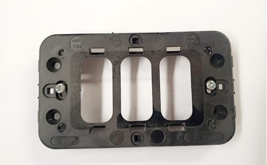 Picture of Supporto 3 Moduli Gl2000 -65386-