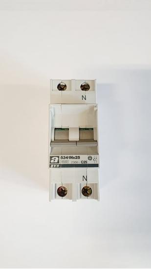 Immagine di Interruttore Magnetotermico 25a 1p+n  -5341nx25-
