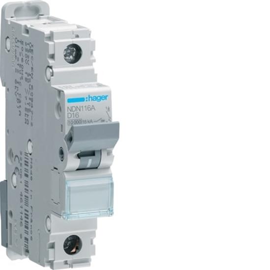 Immagine di Interruttore Automatico Magnetotermico 1 Polo 16a -ndn116a-