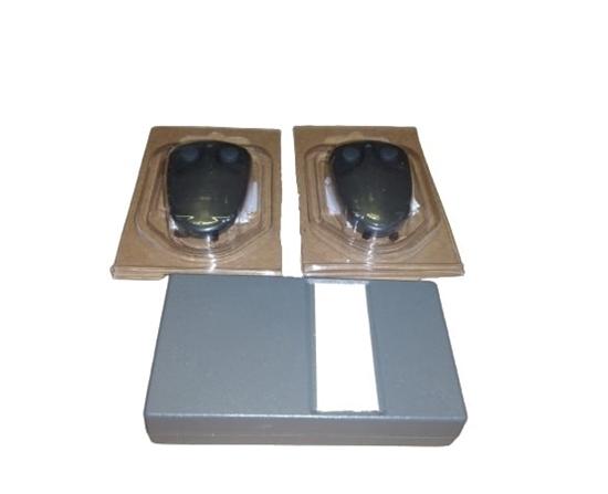 Picture of Kit 1 Ricevitore Quadricanale + 2 Telecomandi Quadricanali  -kitmr4e-