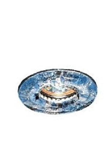 Immagine di Vetro Tondo Azzurro Per 1161 A Scaglie -595301-