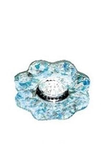 Immagine di Vetro A Fiore Azzurro Per 1161 -595306-