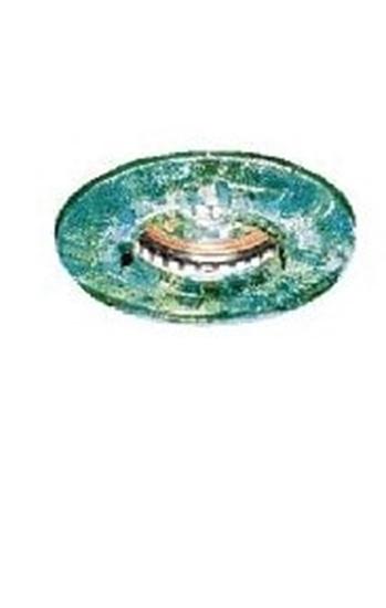 Immagine di Vetro Tondo Verde Per 1161 A Scaglie -595304-
