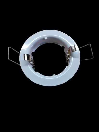 Immagine di Faretto Da Incasso Fisso Tondo Bianco Per 59530 -1161s-
