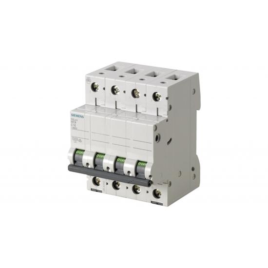 Picture of Interruttore Magnetotermico 4poli 20a -5sl44207-