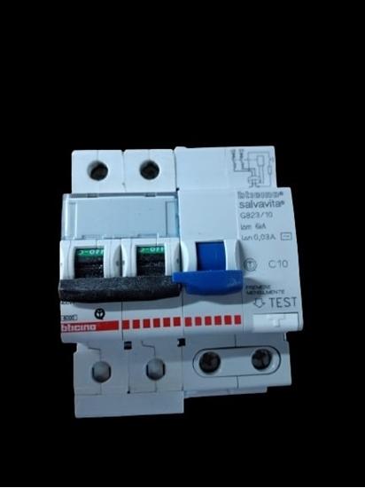 Immagine di Differenziale Magnetotermico 2p 10a -g82310-