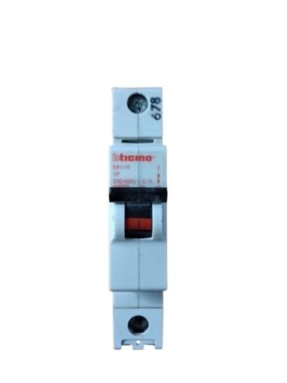 Picture of Interruttore Magnetotermico 1p 10a -e8110-