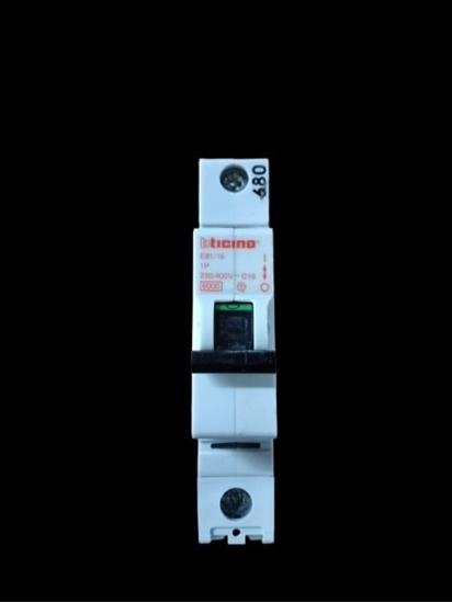 Picture of Interruttore Magnetotermico 1p 16a -e8116-