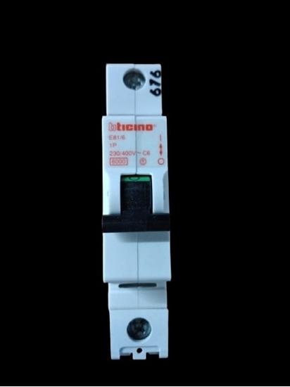 Picture of Interruttore Magnetotermico 1p 6a -e816-