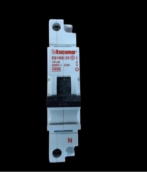 Immagine di Interruttore Magnetotermico 1p+n 25a -e81nb25-